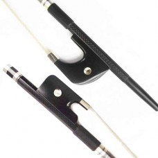 ADVANCED Weave Carbon French, German Double Bass Bow